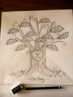 family tree sketch