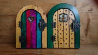 Hand made bespoke fairy doors