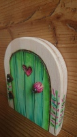 Hand painted fairy door